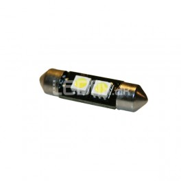 1 sæt Pinol, 2 SMD, 36 mm, Can-Bus, 8000K