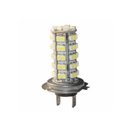 LED Tågelygter H7 68 SMD 6000-6500 Kelvin 3528